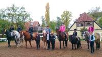 Trail-Turnier-Woche auf dem Reiterhof Bartel Wiesentheid Kitzingen_5